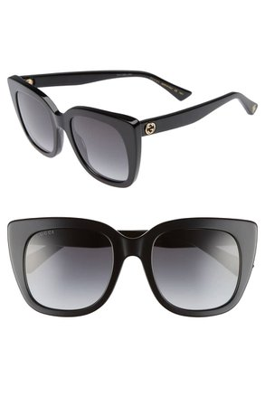 Gucci 51mm Cat Eye Sunglasses | Nordstrom
