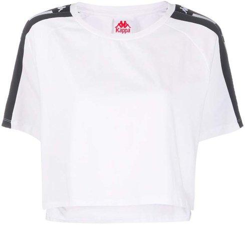 logo-trimmed T-shirt