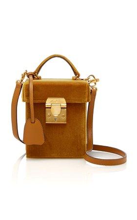 Mark Cross Mini Grace Velvet Bag