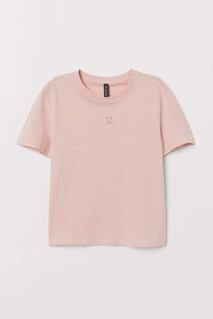 Cotton T-shirt - Pink