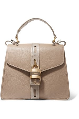 Chloé | Aby medium textured-leather tote | NET-A-PORTER.COM