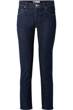 Mother | The Stinger Flood high-rise slim-leg jeans | NET-A-PORTER.COM