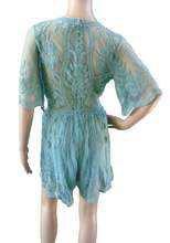 Mint Green Lace Romper – Graeme Alden Clothing