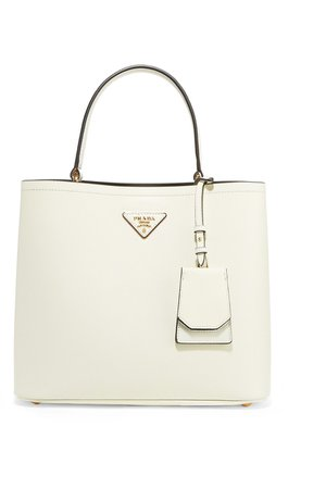 Prada | Textured-leather tote | NET-A-PORTER.COM