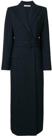 Delphine pinstriped coat