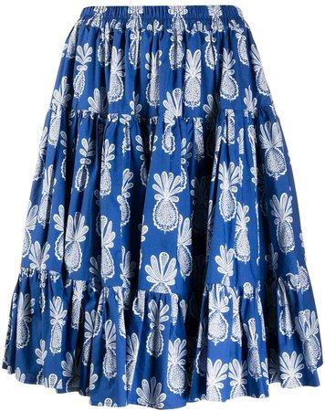 Love pineapple-print skirt