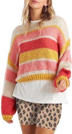 Soft Wind Stripe Sweater