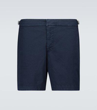 Orlebar Brown - Bulldog cotton twill shorts | Mytheresa