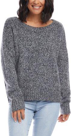 Scoop Neck Sweater