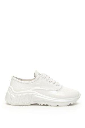 Miu Miu Gabardine Miu Run Sneakers