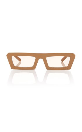Karen Walker Shipwrecks Rectangle Acetate Sunglasses