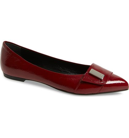 AGL Pointy Toe Flat (Women) | Nordstrom