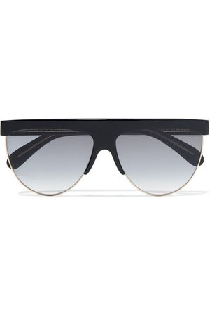 Givenchy | D-frame acetate and gold-tone sunglasses | NET-A-PORTER.COM