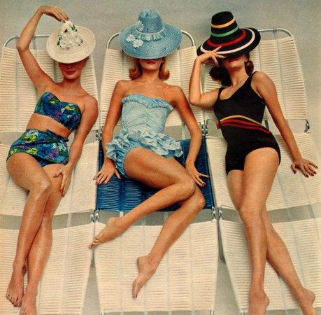 vintage swimwear - Google Search