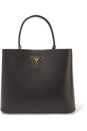 Prada | Textured-leather tote | NET-A-PORTER.COM