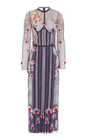 Temperley London Firebird Fitted Dress