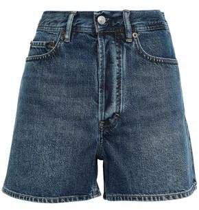 Swamp Faded Denim Shorts