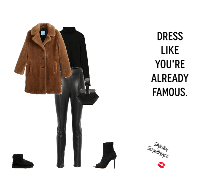 Brown coat vibe