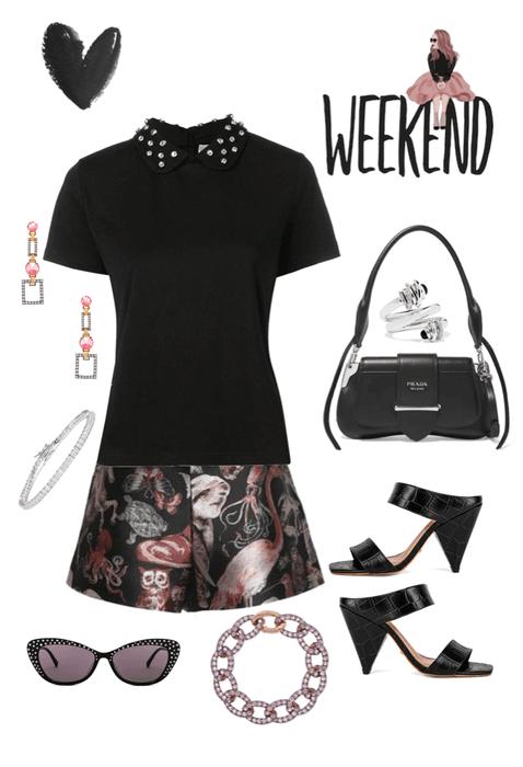 Easy Weekend Look