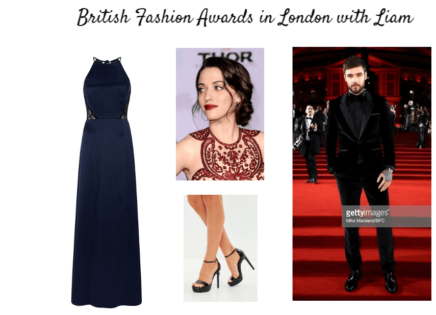 British Fashion Awards in London with Liam