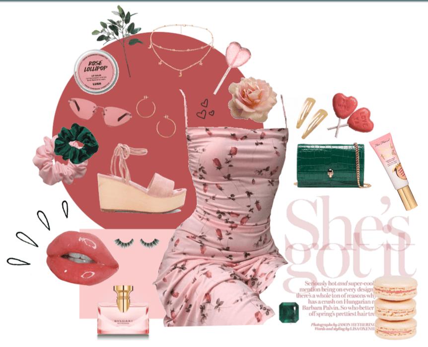 Pink Rose Esmerelda