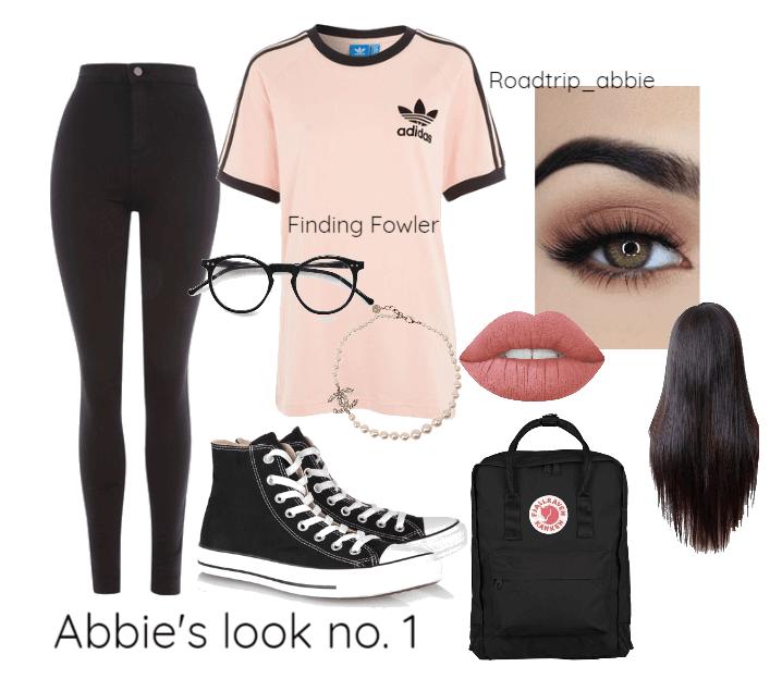 Abbie's look no. 1