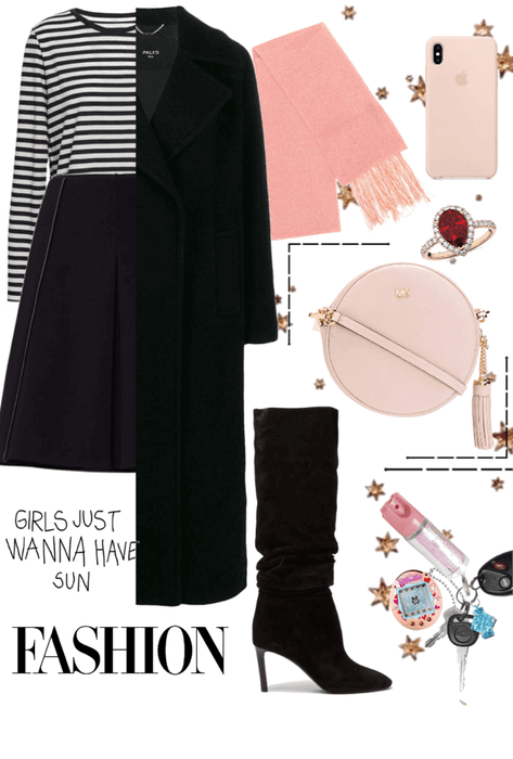 Black spring pink autumn