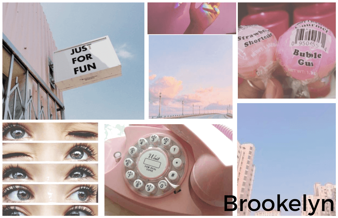 Name Aesthetic Board : Brookelyn