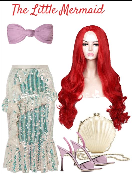 Halloween Costume: The Little Mermaid