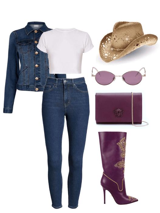Fashion Cow-Girl