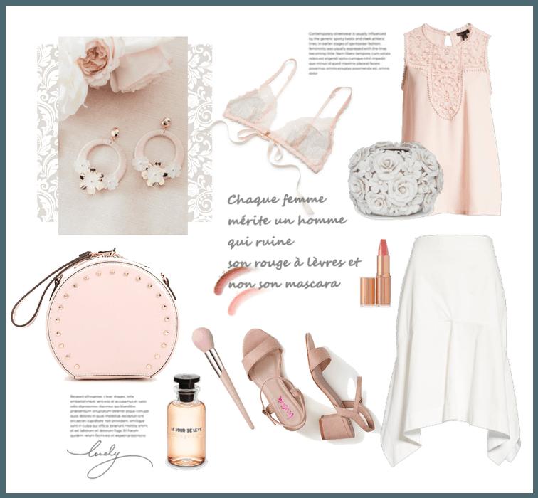 Blush & White Spring 2019