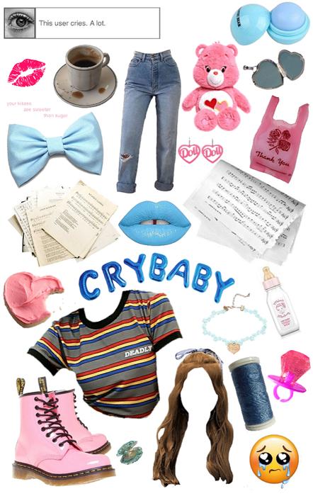 crybaby as a modern teen