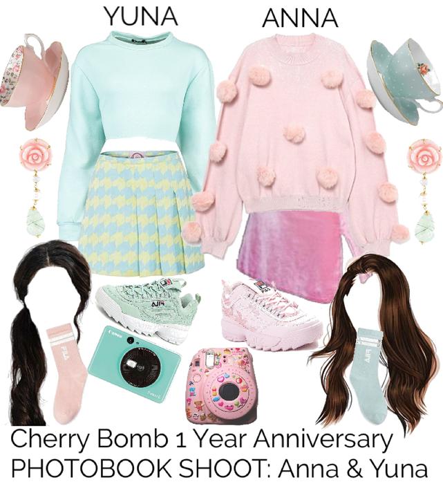 Cherry Bomb 1 Year Anniversary PHOTOBOOK SHOOT: Anna & Yuna