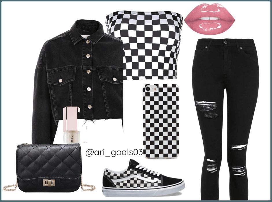 Checkered