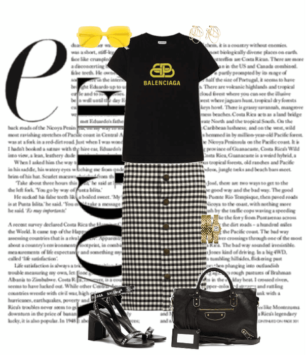 The Balenciaga girl Outfit #48