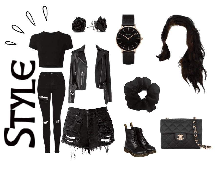 black style lady