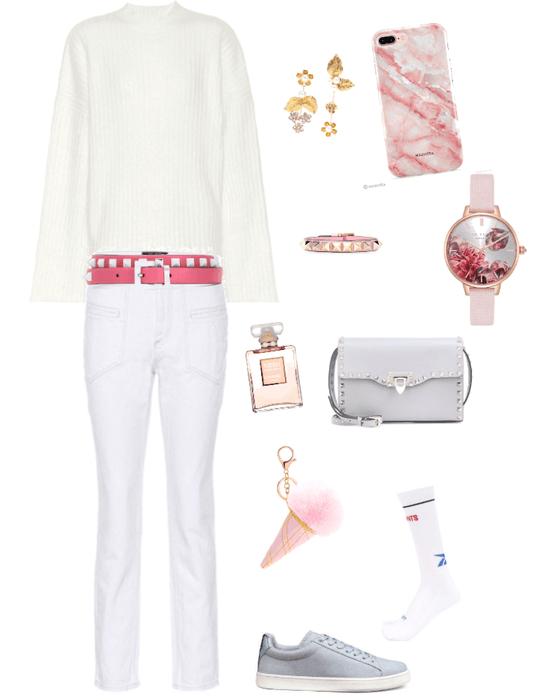 White & Pink Marina